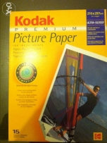 9 Kodak premium ultra glossy papers