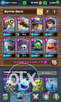 Clash royal sell f2f ( face 2 face)