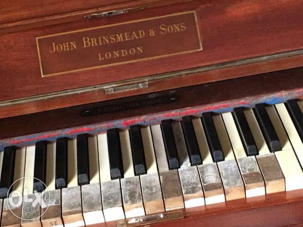 vintage piano uk made in united king dom بنانو صناعة بريطاني قديم 120 كيفون -  7