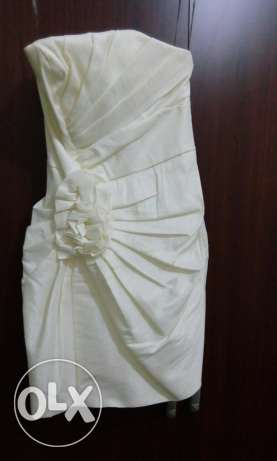 Off white dress very Gorgeous(not dressed)