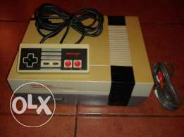 nintendo nes complete (with all accessories) v. good condition