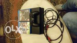 Ps4 500Gb ma3 1 controller we 2 games