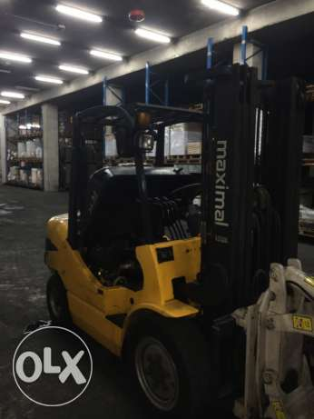 forklift 3.5 ton year 2010