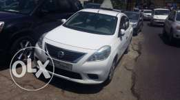 Nissan Sunny 2013 automatic full options ABS and air bag for 9,500$.