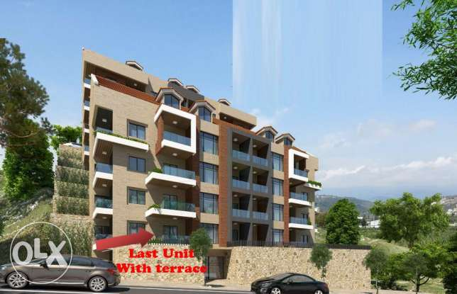 very special price for last 3 bedrooms apartment with terrace