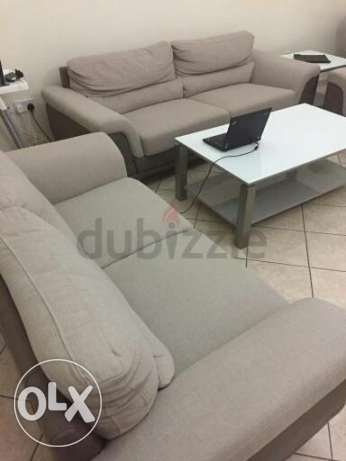 Home Centre (3 Sofas + 3 Tables)