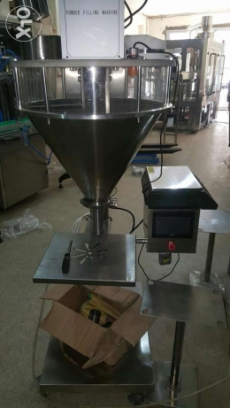 auger for filling powder with convoyer conecter
