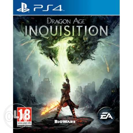 Dragon Age Inquisition PS4 (Brand New Sealed Not Used)