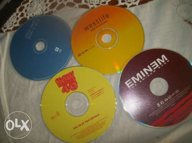 cds and dvds originals arabic and french and english, 120 pcs انطلياس -  1