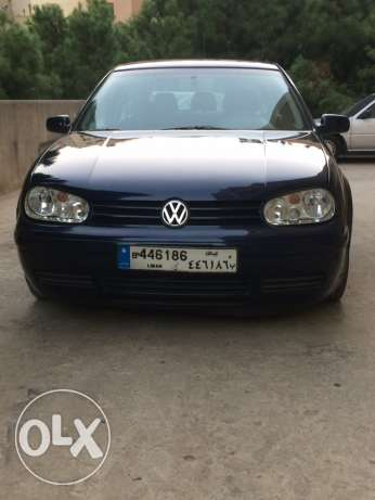 Golf 4 2.0 Model 2004 In Excelent Condition Dark Blue For sale جديدة -  5
