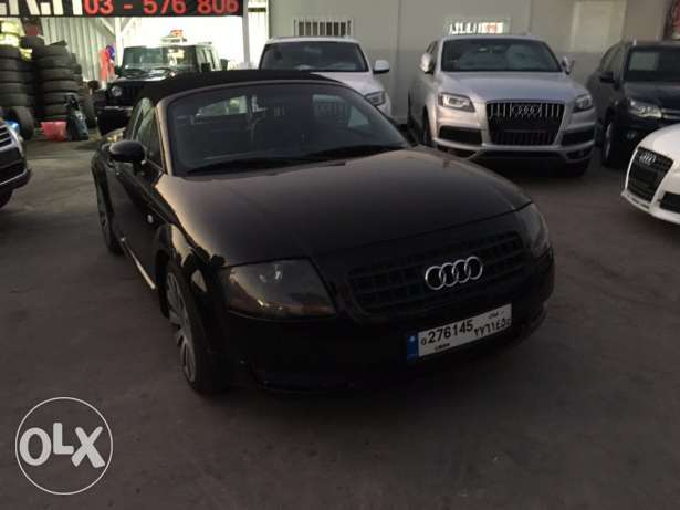 Audi TT 2001 Black Convertible in Good Condition! بوشرية -  6