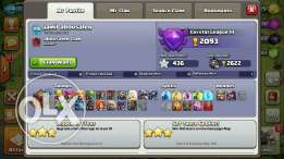 Clash of clans base forsale in Lebanon only face to face lal samsung