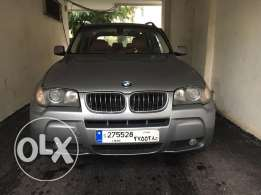 BMW X 3 Model 2006 Very Clean A+