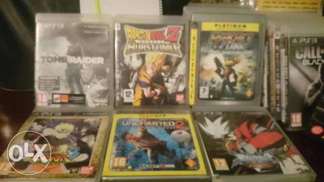 Ps3 games for sale or trade like new(read description) باشورة -  2