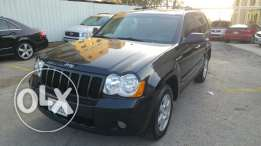 Jeep Cherokee 2008-V6-4×4-black/black-leather-fat7a-full options.