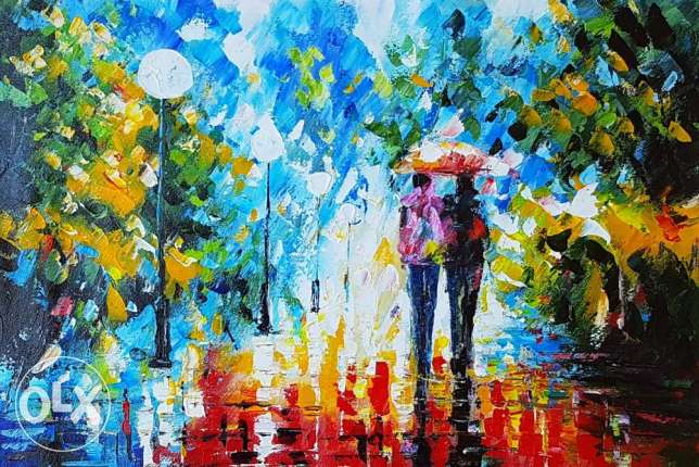 Afremov Oil Paintings - 80 x 60 cm