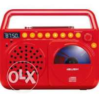 Bush waves radio boombox