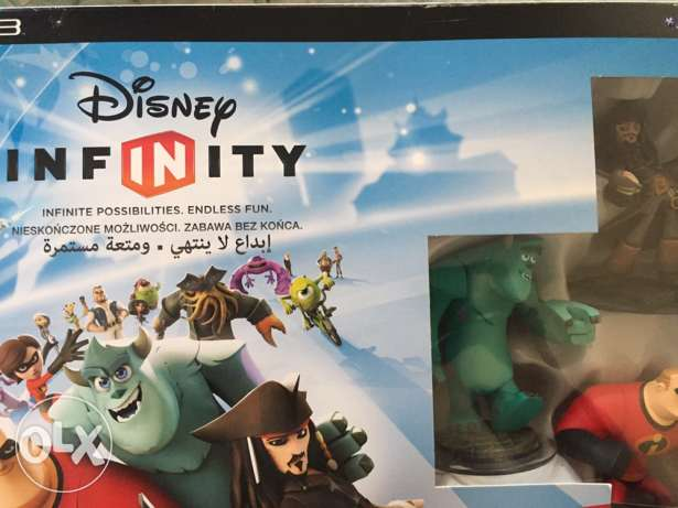 Disney infinity PS3 plus 2 extra characters