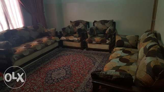4 sofas;2 big ,2 small sofas for sale!! for only 250$
