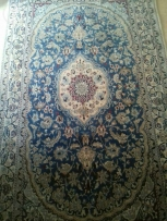 Iran nain antique wool silk