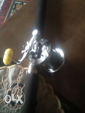 American fishing reel