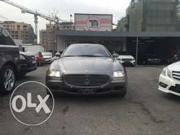 Maserati Quattroporte 2004 grey on havane, 39.000km only !!
