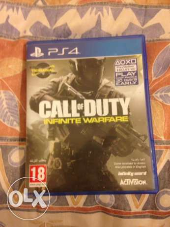 Call Of Duty Infinite Warfare and Uncharted 4 FOR sale