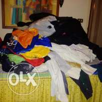 Huge clothes liquidation (400 pieces) for men for a very low price!!
