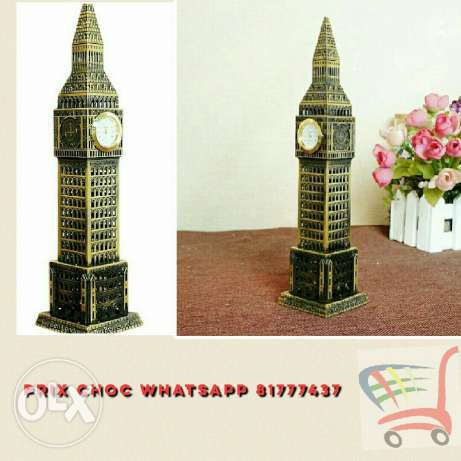 BIGBEN monument with clock 24*6 CM. 15 000 LBP