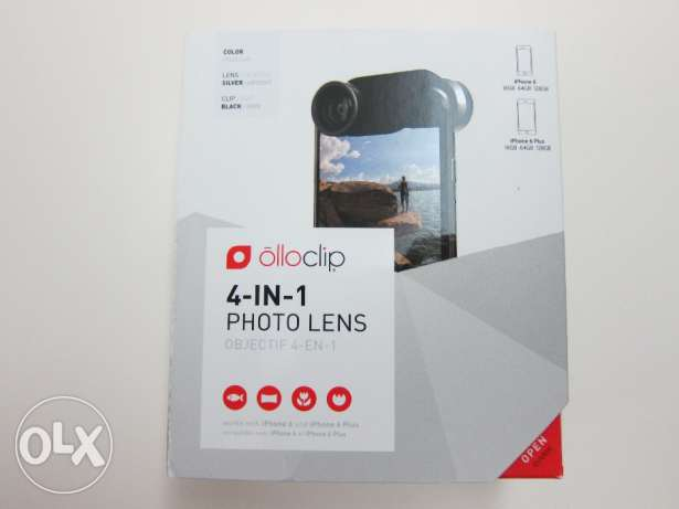 Ollo Clip 4-in-1 Lens for iPhone 6/6 Plus