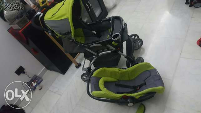2in1 Stroller and car seat خلدة -  1