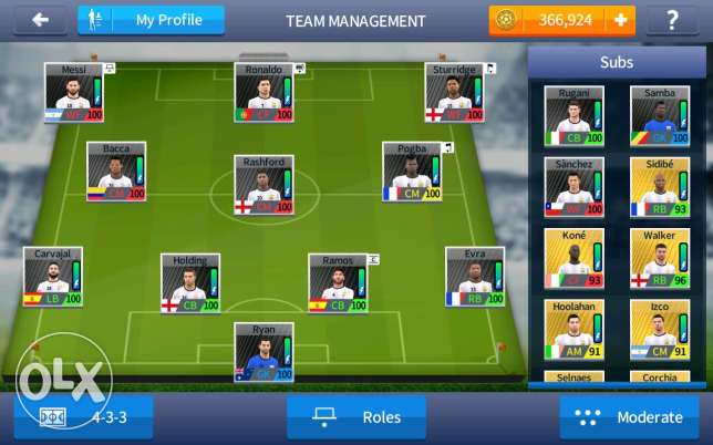 Dream league soccer team very strong 50$ or trade 3la wwe 2k 17 ps3
