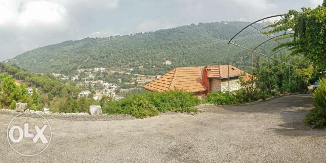 A 5000 square meters land in aramoun, keserwan , with an 800 m villa كسروان -  7