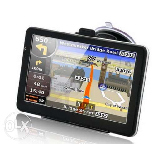 Gps navigator with map
