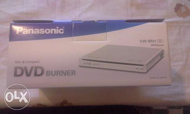 DVD burner Panasonic new +Camera Battery pack kit +battery+15 DVDs