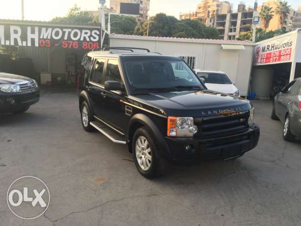 Land Rover LR3 V8 SE 2005 Black/Black in Excellent Condition! بوشرية -  1