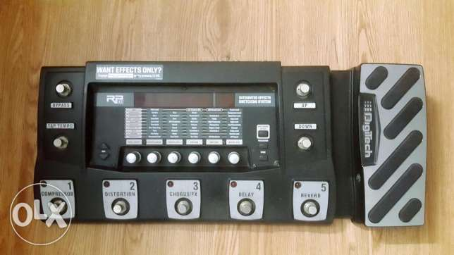 Digitech pedal RP500 good condition last price $200