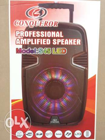 Professional Amplified Speaker المتن -  1