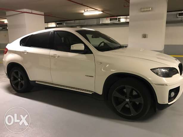 BMW X6 5.0i 2009 (White/Red) for sale