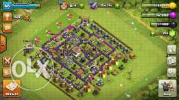 clash of clans th lvl 8
