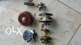 8x fishing reel antik dam pratic Made in france