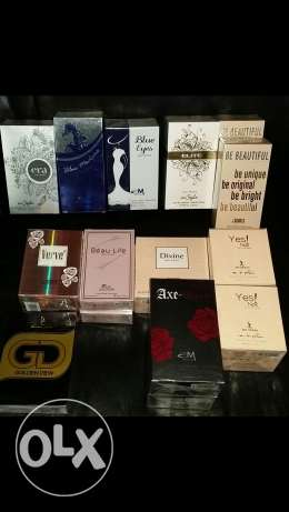 New Parfumes 100 m.L collection