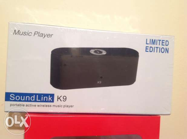Sound Link K9 portable active wireless music player (never used)