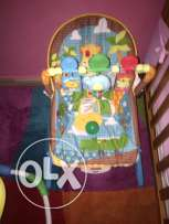 fisherprice relax chair blue color