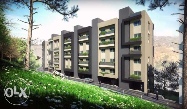 102 m2 ( 2 bedrooms ) apartment for sale in hazmieh حازمية -  4