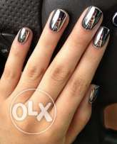 Nail design acrylic gel and Nail Repair Specialist .