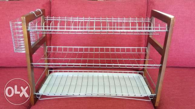 Triple Dish Rack