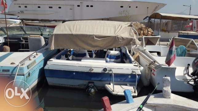 Bayliner American 4 cyl 3.0 mercruiser with lifetime parking المرفأ -  5