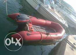 Zodiac Inflatable boat streight from France very clean