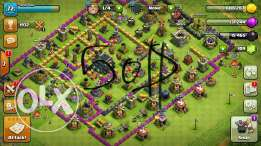 Acc clash of clan town hall level 9